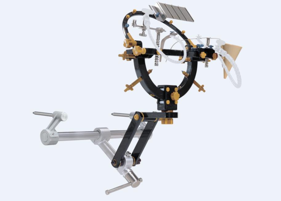 Повний комплект системи фіксації голови з радіопрозорою голівкою Mizuho