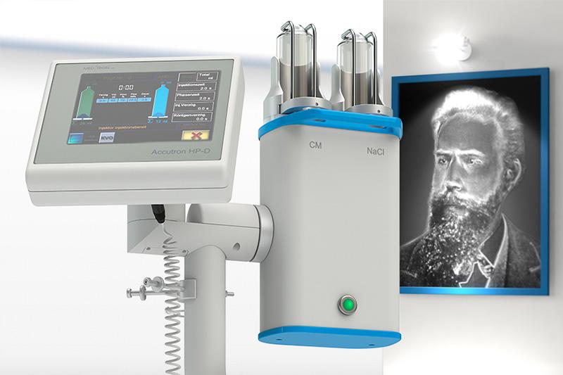 Інжектор Accutron HP-D для ангіографії та комп'ютерної томографії