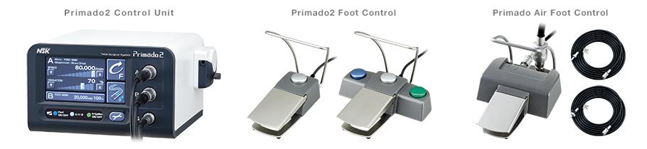 Блок управления и педаль ножного управления Primado2
